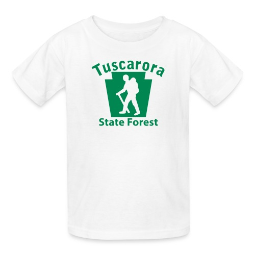 Tuscarora State Forest Keystone Hiker (male) - Kids' T-Shirt