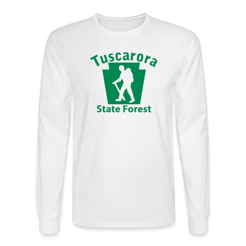 Tuscarora State Forest Keystone Hiker (male) - Men's Long Sleeve T-Shirt