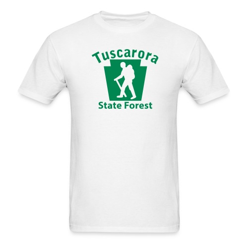 Tuscarora State Forest Keystone Hiker (male) - Men's T-Shirt