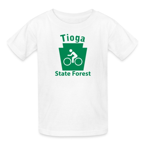 Tioga State Forest Keystone Biker - Kids' T-Shirt