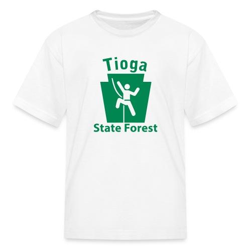 Tioga State Forest Keystone Climber - Kids' T-Shirt