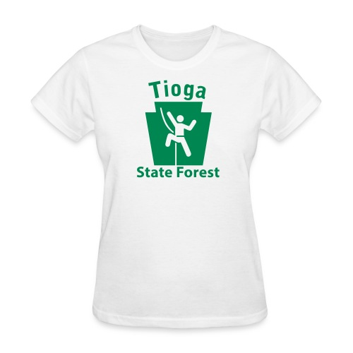 Tioga State Forest Keystone Climber - Women's T-Shirt