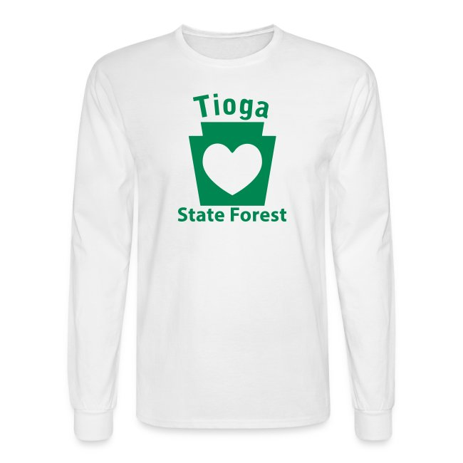 Tioga State Forest Keystone Heart
