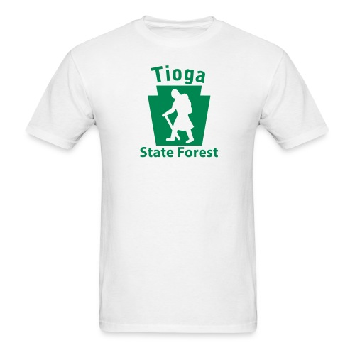 Tioga State Forest Keystone Hiker (female) - Men's T-Shirt