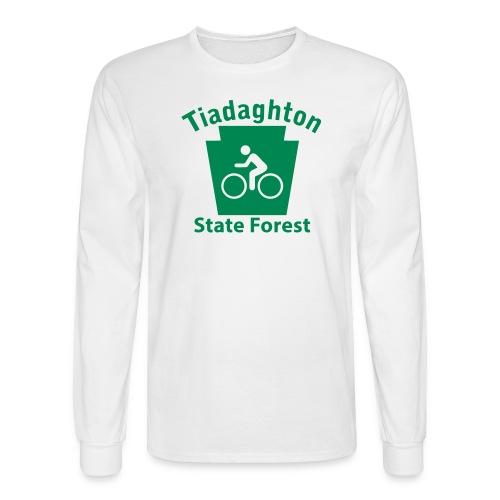 Tiadaghton State Forest Keystone Biker - Men's Long Sleeve T-Shirt