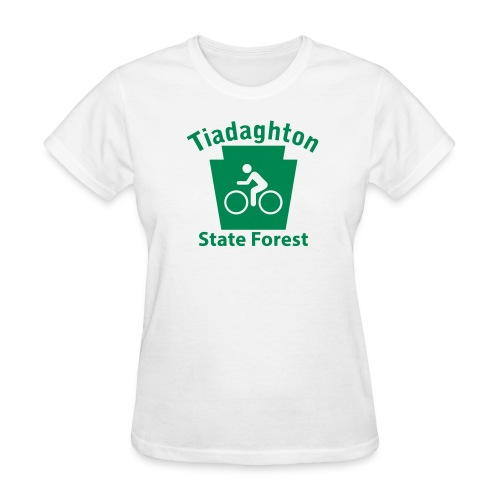 Tiadaghton State Forest Keystone Biker - Women's T-Shirt