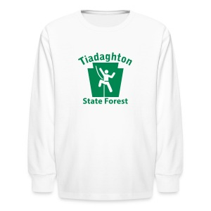 Tiadaghton State Forest Keystone Climber - Kids' Long Sleeve T-Shirt