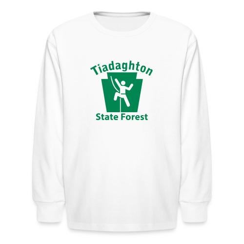 Tiadaghton State Forest Keystone Climber - Kids' Long Sleeve T-Shirt