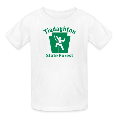 Tiadaghton State Forest Keystone Climber - Kids' T-Shirt