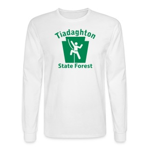 Tiadaghton State Forest Keystone Climber - Men's Long Sleeve T-Shirt
