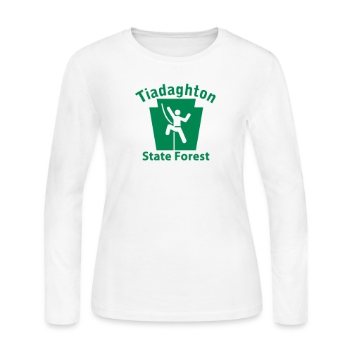 Tiadaghton State Forest Keystone Climber - Women's Long Sleeve Jersey T-Shirt
