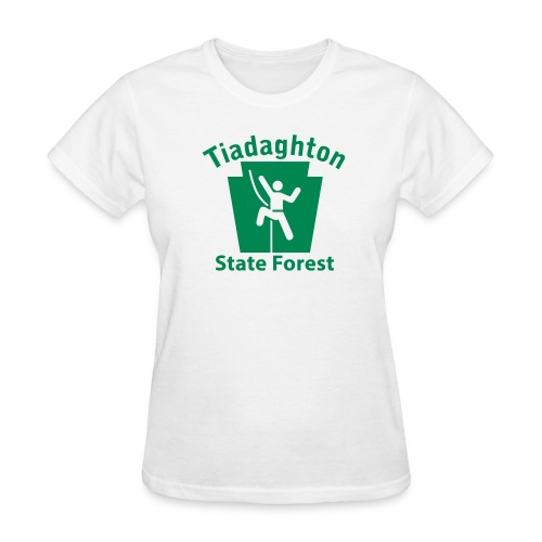 Tiadaghton State Forest Keystone Climber - Women's T-Shirt