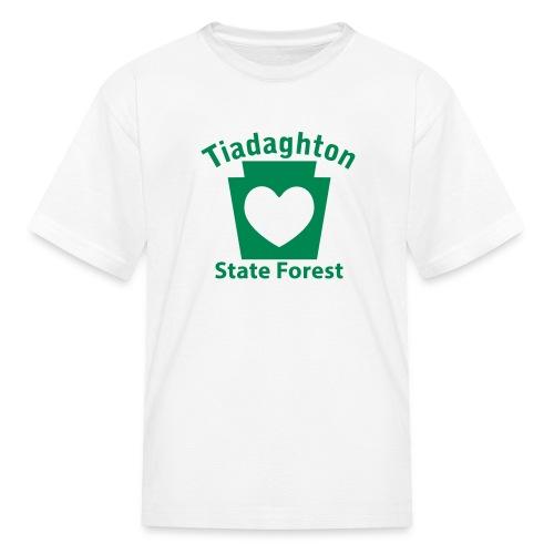 Tiadaghton State Forest Keystone Heart - Kids' T-Shirt