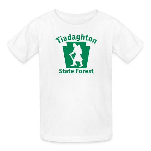 Tiadaghton State Forest Keystone Hiker (female) - Kids' T-Shirt