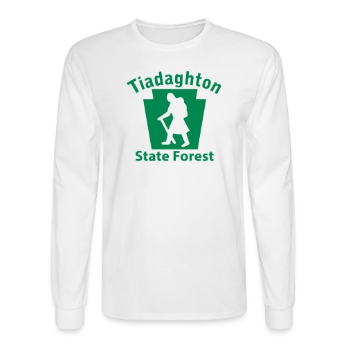 Tiadaghton State Forest Keystone Hiker (female) - Men's Long Sleeve T-Shirt