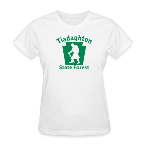 Tiadaghton State Forest Keystone Hiker (female) - Women's T-Shirt