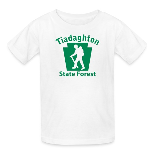Tiadaghton State Forest Keystone Hiker (male) - Kids' T-Shirt