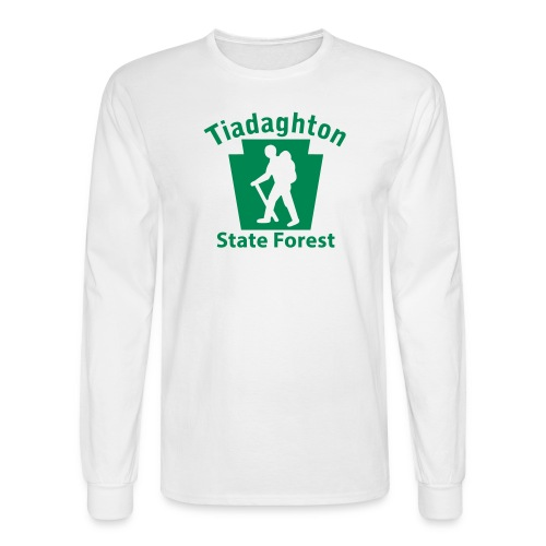 Tiadaghton State Forest Keystone Hiker (male) - Men's Long Sleeve T-Shirt