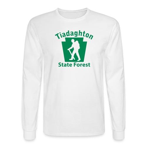 Tiadaghton State Forest Keystone Hiker (male) - Men's Long Sleeve T-Shirt