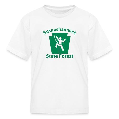 Susquehannock State Forest Keystone Climber - Kids' T-Shirt