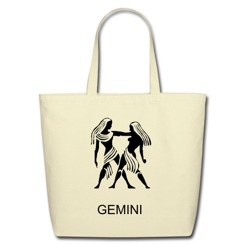 Bag with a sign Gemini - Eco-Friendly Cotton Tote