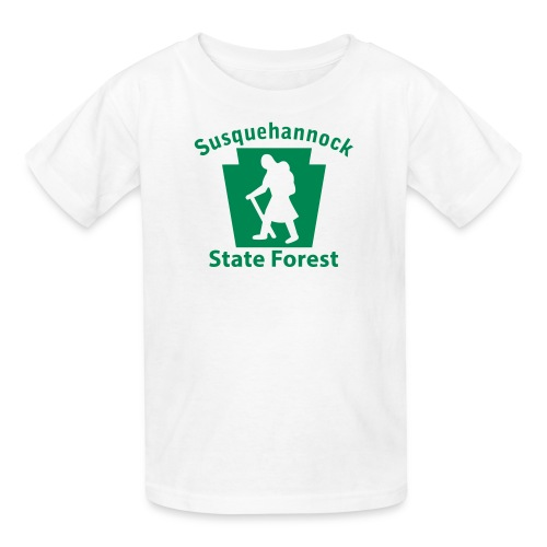 Susquehannock State Forest Keystone Hiker (female) - Kids' T-Shirt