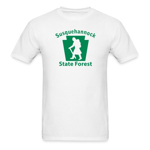 Susquehannock State Forest Keystone Hiker (female) - Men's T-Shirt