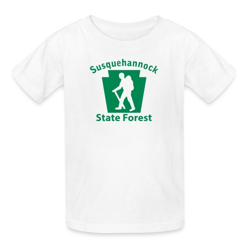 Susquehannock State Forest Keystone Hiker (male) - Kids' T-Shirt