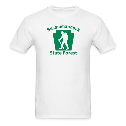 Susquehannock State Forest Keystone Hiker (male) - Men's T-Shirt