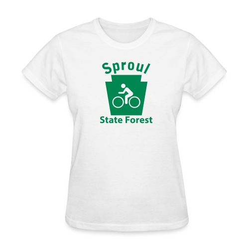 Sproul State Forest Keystone Biker - Women's T-Shirt