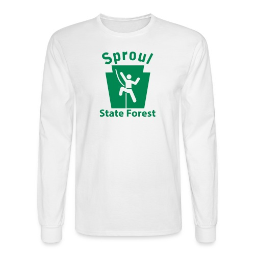 Sproul State Forest Keystone Climber - Men's Long Sleeve T-Shirt