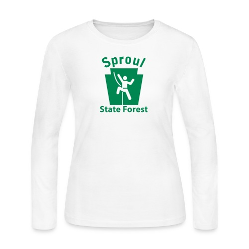 Sproul State Forest Keystone Climber - Women's Long Sleeve Jersey T-Shirt