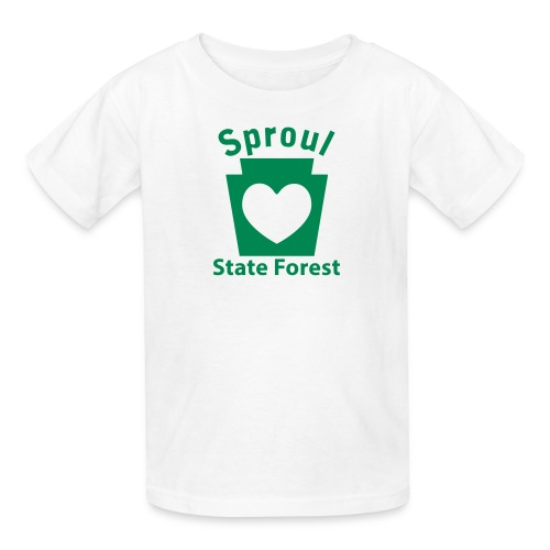 Sproul State Forest Keystone Heart - Kids' T-Shirt