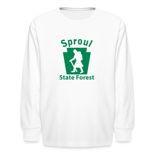 Sproul State Forest Keystone Hiker (female) - Kids' Long Sleeve T-Shirt