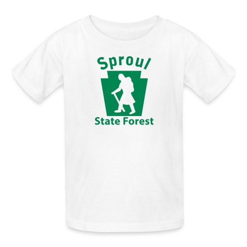Sproul State Forest Keystone Hiker (female) - Kids' T-Shirt
