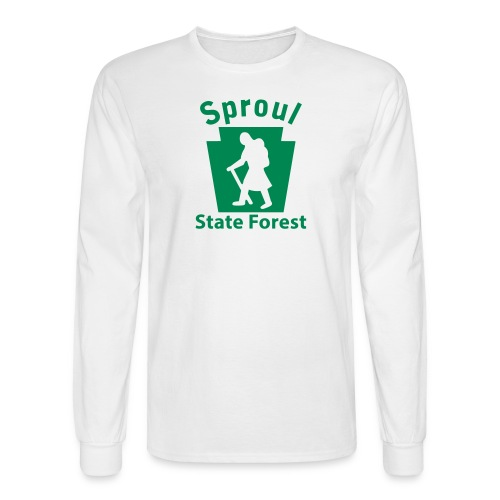 Sproul State Forest Keystone Hiker (female) - Men's Long Sleeve T-Shirt