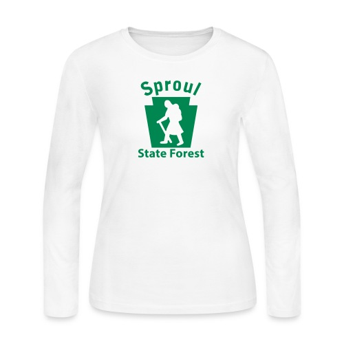 Sproul State Forest Keystone Hiker (female) - Women's Long Sleeve Jersey T-Shirt