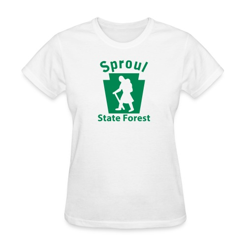 Sproul State Forest Keystone Hiker (female) - Women's T-Shirt