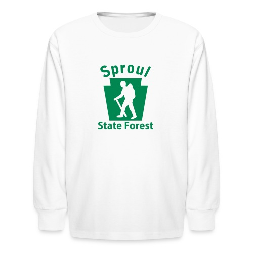 Sproul State Forest Keystone Hiker (male) - Kids' Long Sleeve T-Shirt
