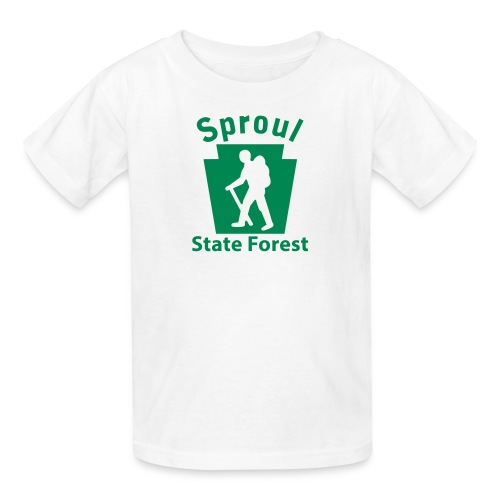 Sproul State Forest Keystone Hiker (male) - Kids' T-Shirt