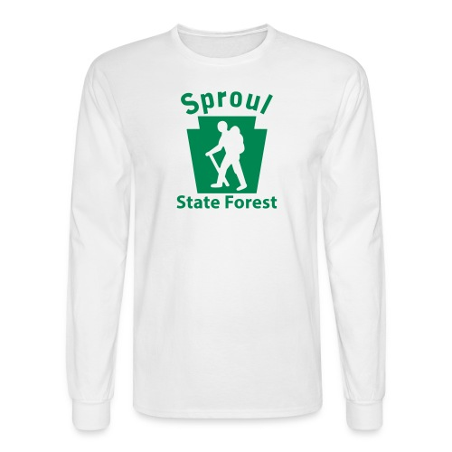 Sproul State Forest Keystone Hiker (male) - Men's Long Sleeve T-Shirt