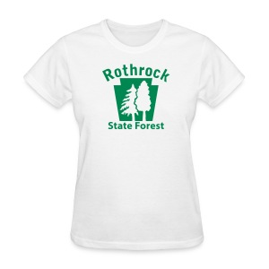 Rothrock State Forest Keystone w/Trees - Women's T-Shirt
