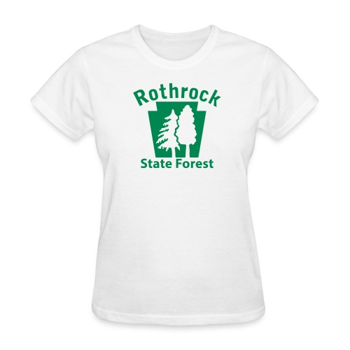Rothrock State Forest Keystone w/Trees - Women's T-Shirt