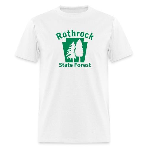Rothrock State Forest Keystone w/Trees - Men's T-Shirt