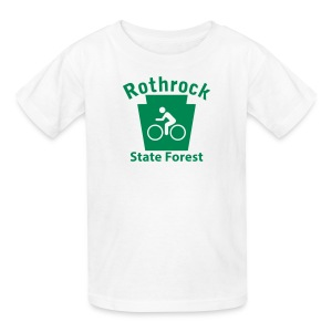Rothrock State Forest Keystone Biker - Kids' T-Shirt