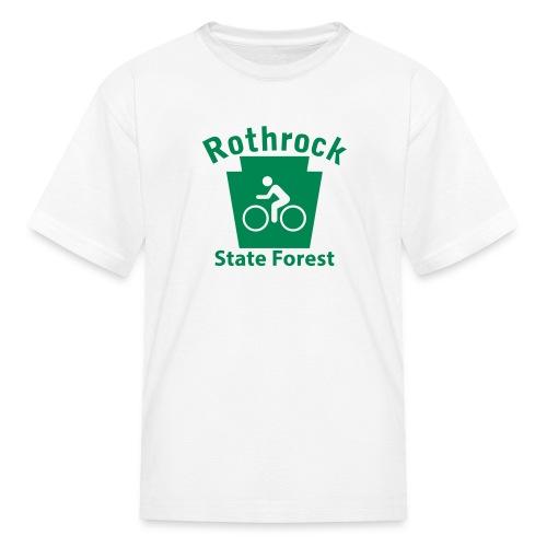 Rothrock State Forest Keystone Biker - Kids' T-Shirt
