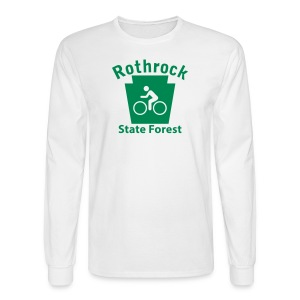 Rothrock State Forest Keystone Biker - Men's Long Sleeve T-Shirt