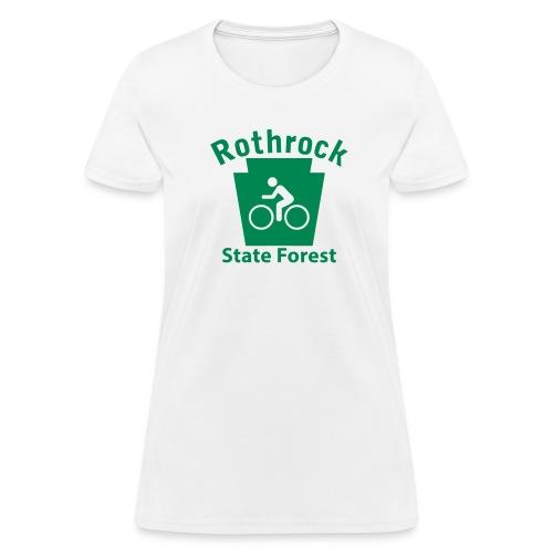 Rothrock State Forest Keystone Biker - Women's T-Shirt