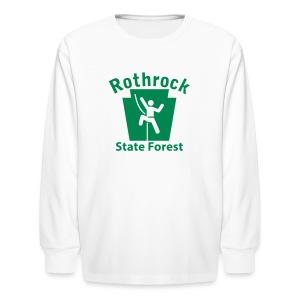 Rothrock State Forest Keystone Climber - Kids' Long Sleeve T-Shirt