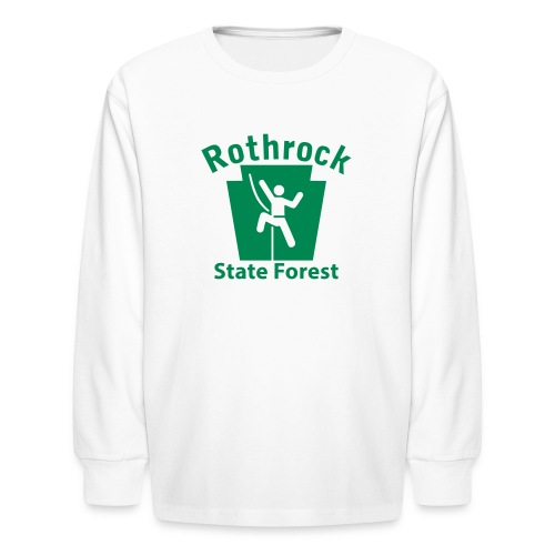 Rothrock State Forest Keystone Climber - Kids' Long Sleeve T-Shirt